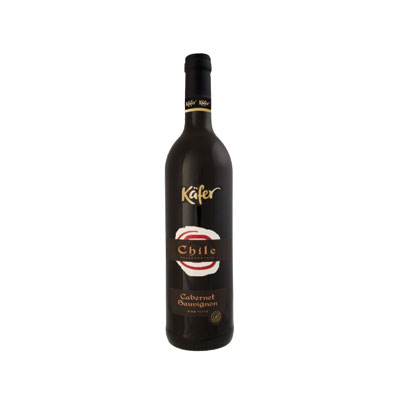 Kafer Cabernet Sauvignon Chile 75cl